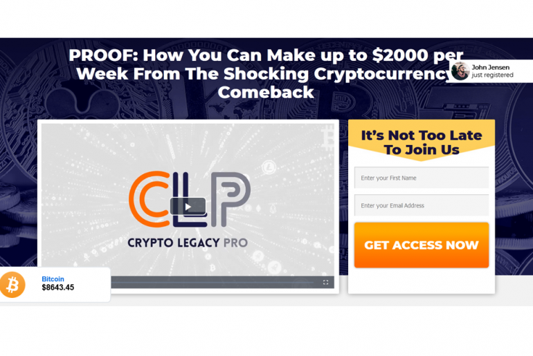Crypto Legacy Pro Review