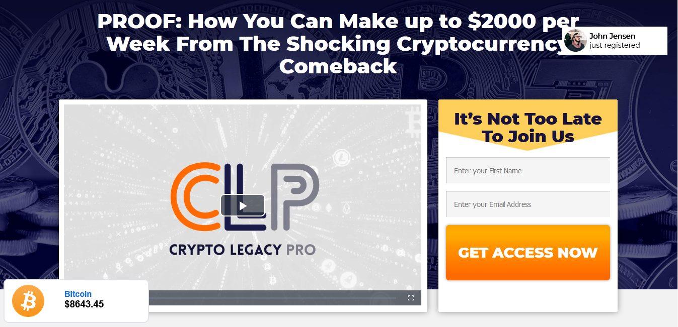 Crypto Legacy Pro