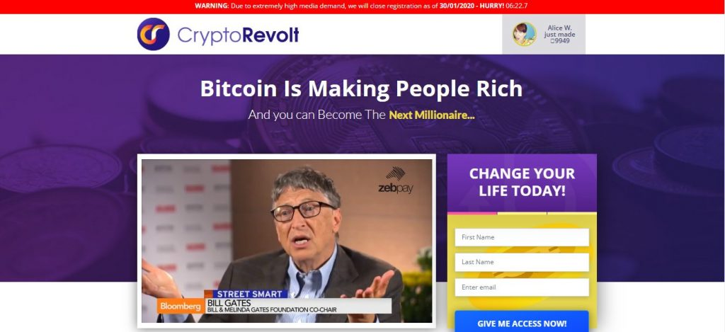 Crypto Revolt Review: An Auto Live Trading Software To Earn Large Profit?