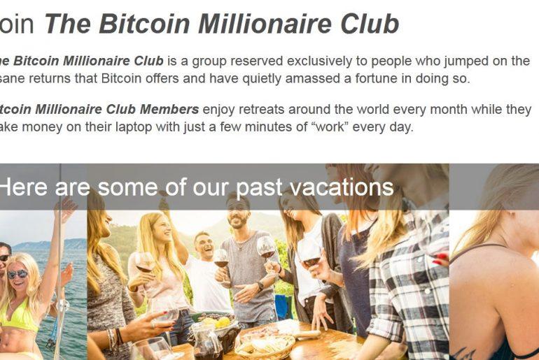 bitcoin millionare club