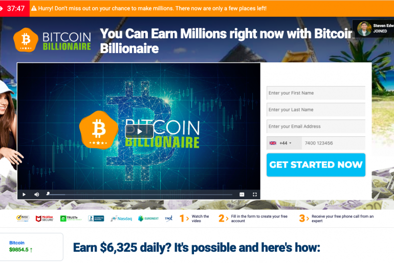 Bitcoin Billionare review
