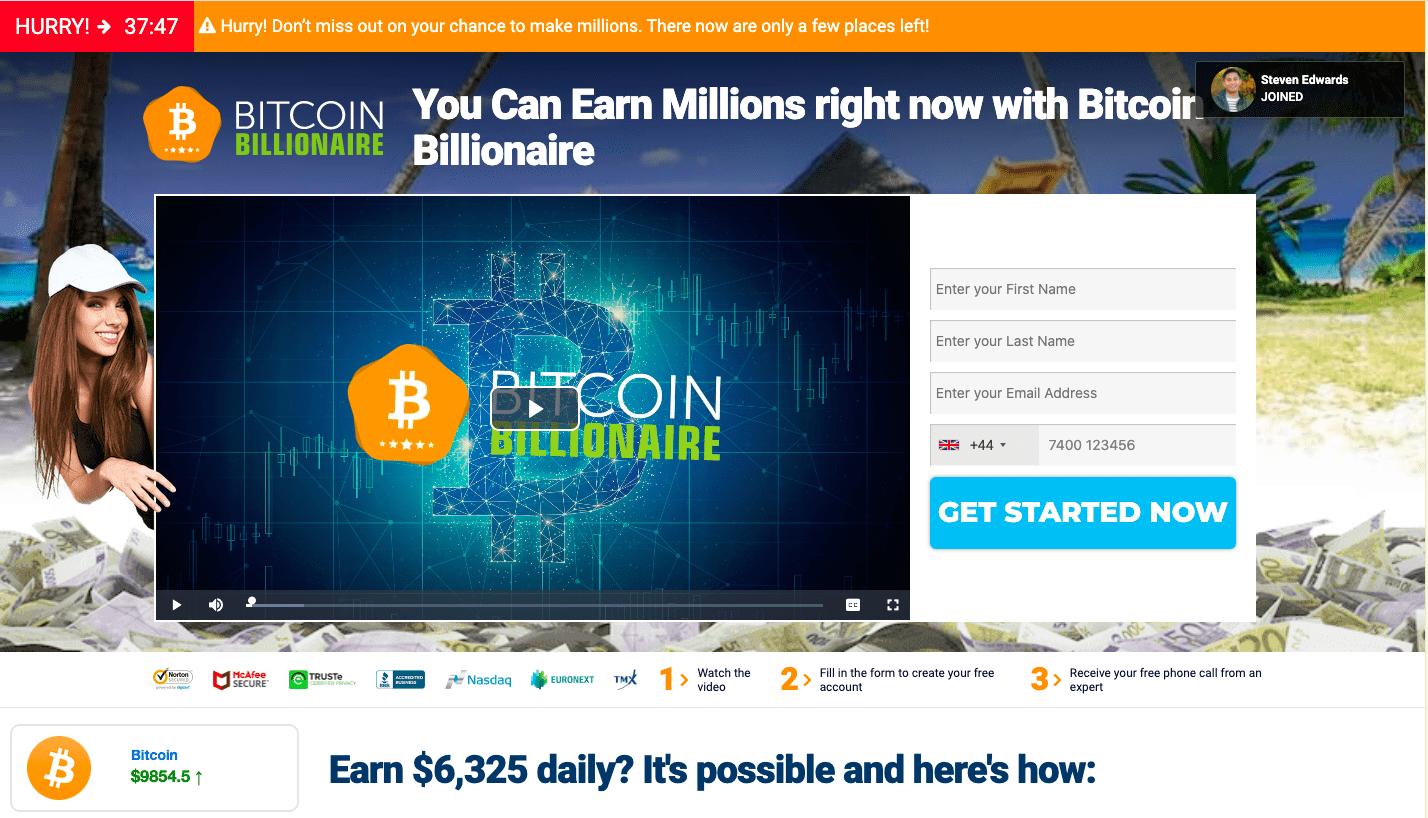 Bitcoin Billionare