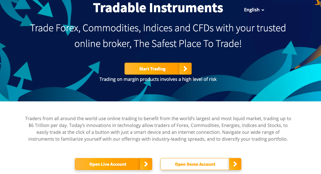 FXPrimus Tradable instruments