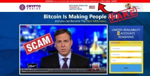 crypto engine fake media news